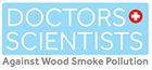 Doctors and Scientists Against Wood Smoke Pollution logo