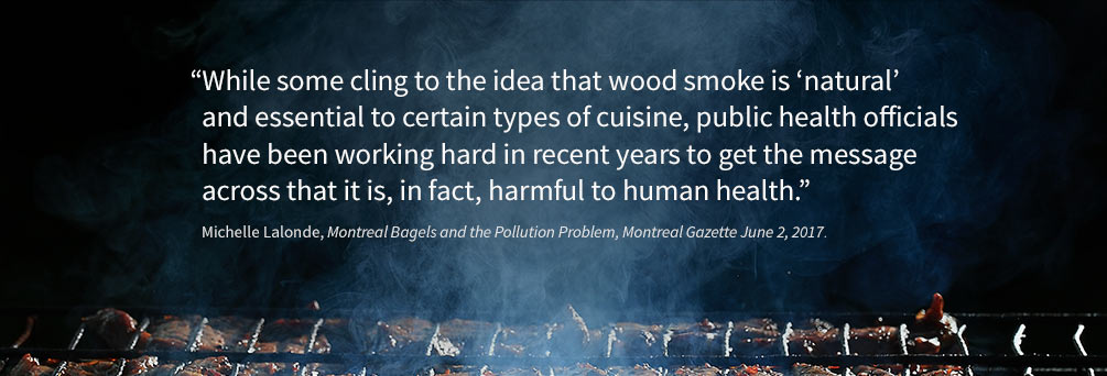 Public health officials have been working hard in recent years to get the message across that wood smoke is harmful to human health.